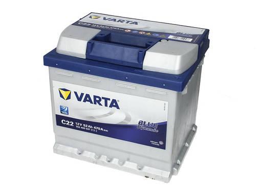 Аккумулятор VARTA ВD 52Ah EN470 R+ (C22), фото 2