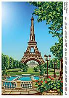 Схема для вышивания бисером  - Люблю Париж
