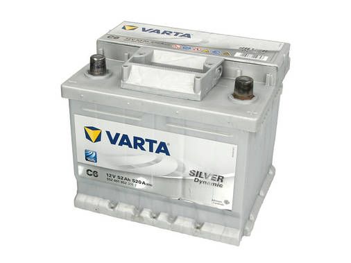 Аккумулятор VARTA SD 52Ah EN520 R+ (C6), фото 2