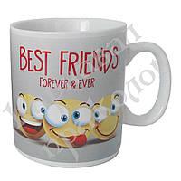 Кружка гигант Best Friends, фото 1