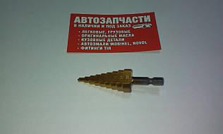 Сверло конусное под отверстия от  4 мм. до 20 мм.