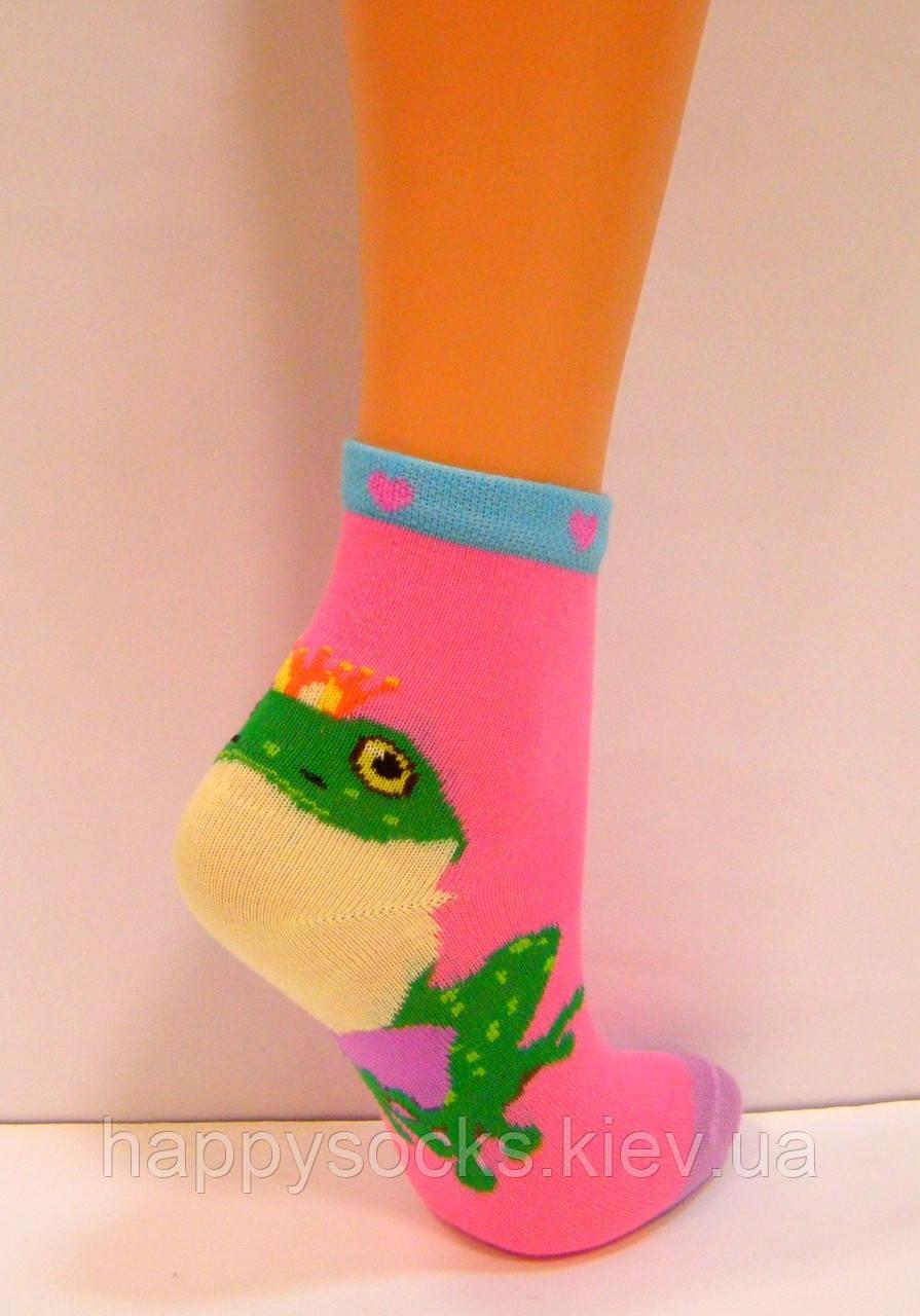 Детские цветные носки с объёмным рисунком