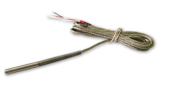 Датчик температуры Pt100, -50...+250°С, с кабелем