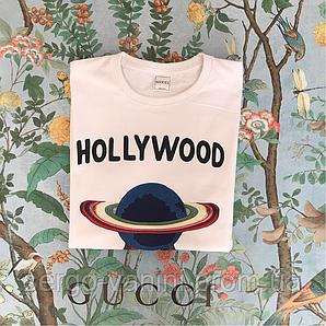 Gucci. Белая футба. Hollywood. Оригинальная бирка.