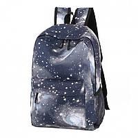 Рюкзак городской школьный космос Space Gray