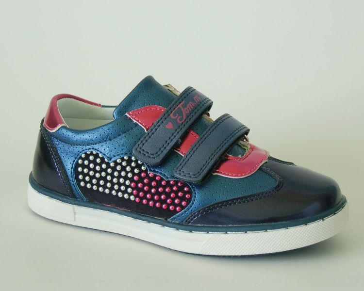 Детские кросcовки  для  девочки Tom.М Вark blue