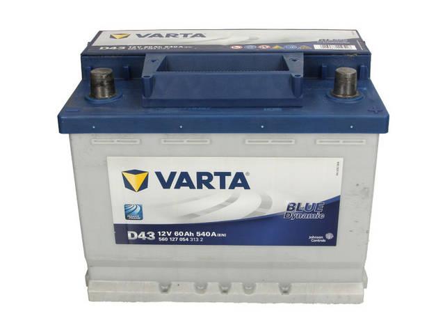 Аккумулятор VARTA BD 60Ah EN540 R+ (D43)