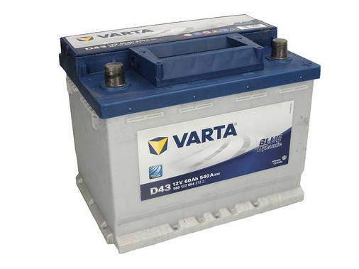 Аккумулятор VARTA BD 60Ah EN540 R+ (D43), фото 2
