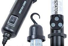 Рабочая лампа светодиодная с магнитом и крючком BassPolska 3908, фото 3