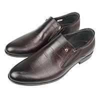 Класичні чоловічі туфлі Tapi A-6048 P13 Bordo в темно-бордовому кольорі 492e1448062bd