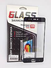 Защитное стекло Meizu M5s Black