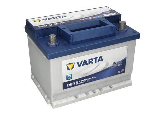 Аккумулятор VARTA BD 60Ah EN540 R+ (D59), фото 2