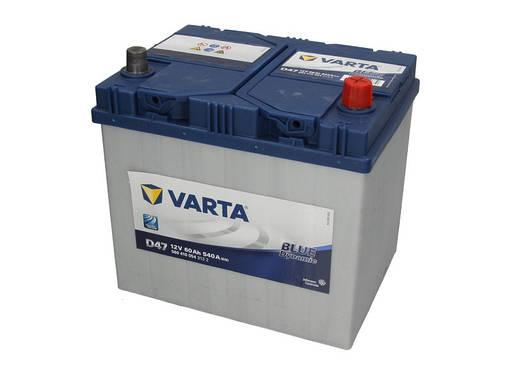 Аккумулятор VARTA BD 60Ah EN540 R+ Asia (D47), фото 2