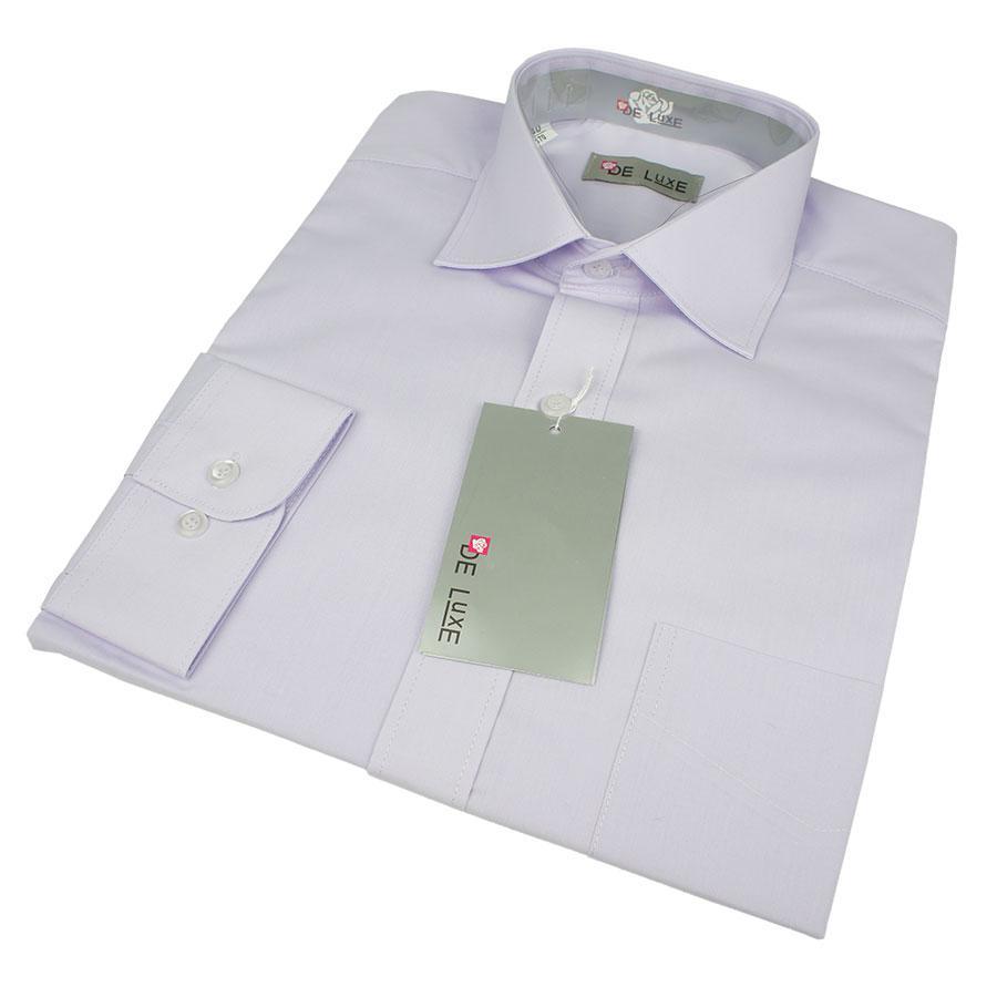 Класична чоловіча сорочка De Luxe 217D великого розміру
