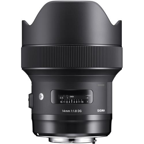 Объектив Sigma 14mm f1.8 DG HSM Art Lens for Canon EF (450954)