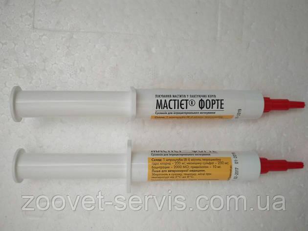Суспензия для интрацистернального введенияМастиет Форте - 8 г, фото 2