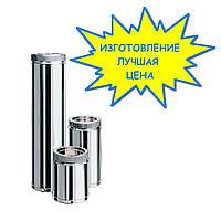 Дымоходы из оцинкковки для частного дома | Цена стального дымохода для камина и бани от изготовителя