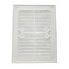 Пластиковая решетка МиниМакс 240х180 белая, фото 2