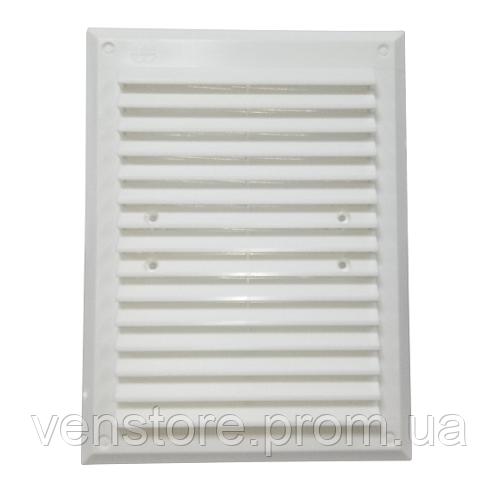 Пластиковая решетка МиниМакс 240х180 белая