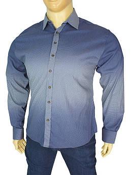 Чоловіча турецька сорочка Desibel 0320 B великого розміру