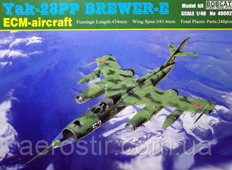Yak-28PP Brewer-E 1/48 BOBCAT 48002