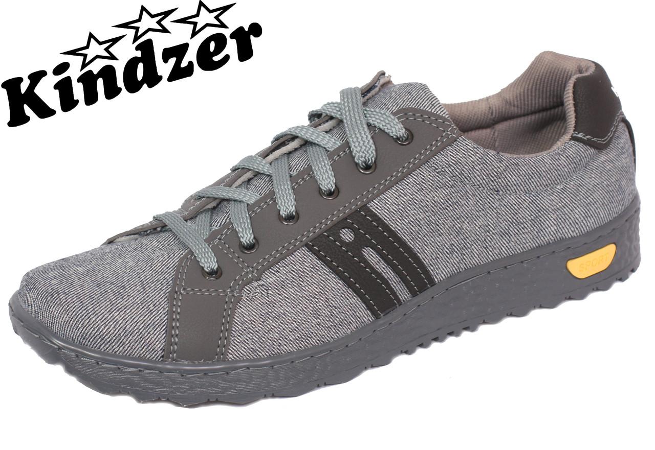Кеди джинсові Kindzer J-1 Grey