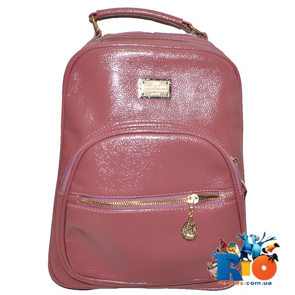 Школьная сумка (рюкзак) 34х25 см, из эко-кожи(мин.заказ-1 ед)