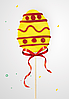 Пасхальные яйца из карамели с логотипом Опт от 200 шт