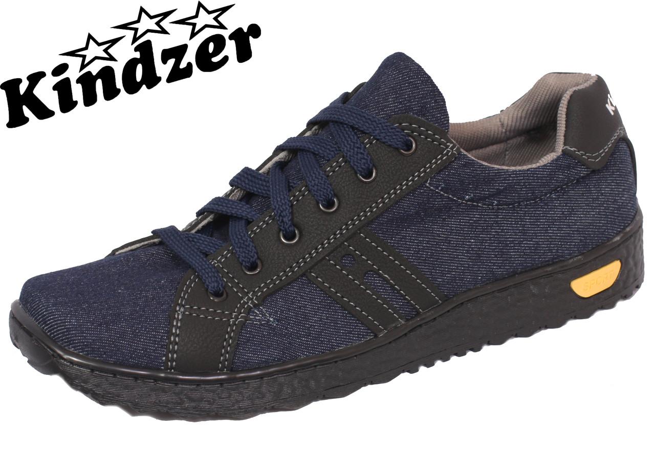 Кеди джинсові Kindzer J-1 Blue