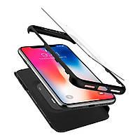 Чехол Spigen для iPhone X Thin Fit 360, фото 1