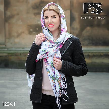 Стильный лёгкий шарф Цветочный сон, фото 2