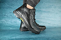Мужские зимние ботинки Clarks Черные 10520 Реплика