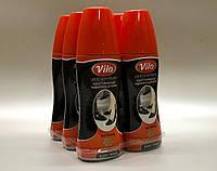 VILO Liquid Shoe Polish водоотталкивающая жидкая краска для обуви ЧЕРНАЯ 80 мл.
