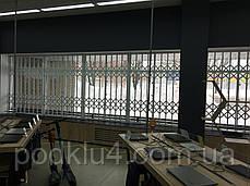 Раздвижные решетки на фасадное остекление, фото 2