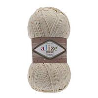 Cotton gold tweed - 01 кремовый