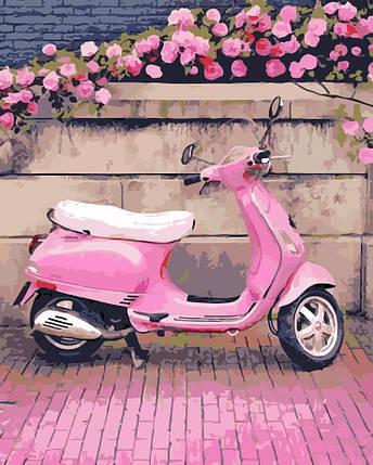 AS0200 Набор-раскраска по номерам В розовом стиле, фото 2
