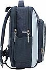 Рюкзак школьный серый с машиной, фото 2