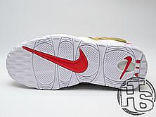 Женские кроссовки реплика Nike Air More Uptempo x Supreme Suptempo Metallic Gold 902290-700, фото 3