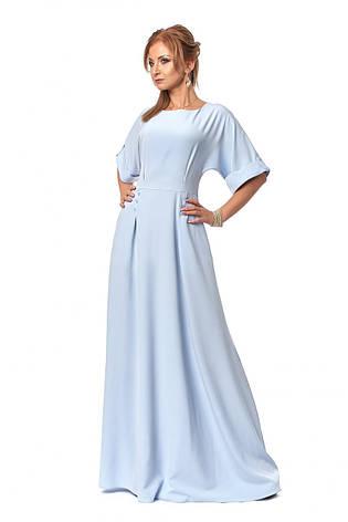 Оригинальное длинное женственное платье р. 44, фото 2
