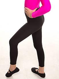 Лосини для гімнастики жіночі ЧОРНІ баталов