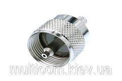 01-20-03. Штекер UHF (RG-11) обжимной,корпус металл