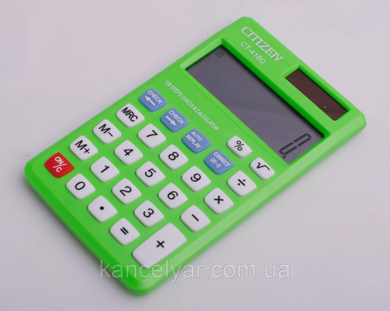 Калькулятор CITIZEIV, 7х12 см