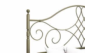 ✅Металлическая кровать Парма 160х190 см ТМ Металл-Дизайн, фото 3