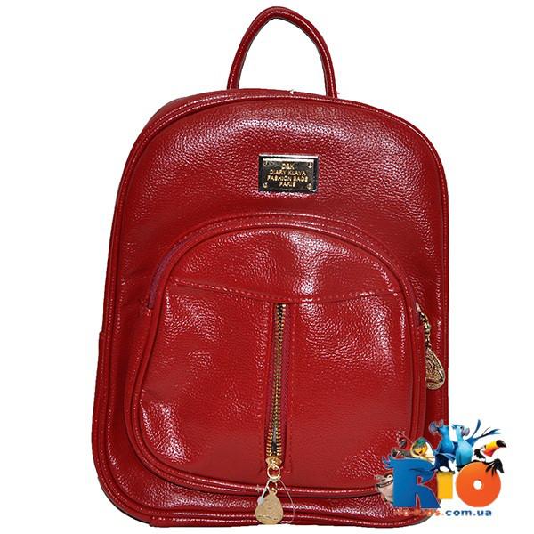 Школьная сумка (рюкзак) 30х25 см, из эко-кожи(мин.заказ-1 ед)
