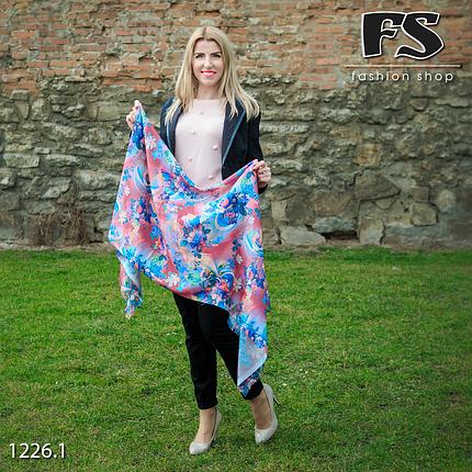 Стильный лёгкий шарф Цветочная магия, фото 2
