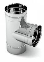 Тройник для дымохода из стали для дома   Цена дефлектора дымохода от производителя