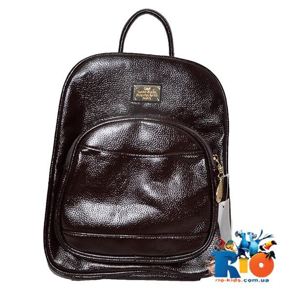 Школьная сумка (рюкзак) 29х26 см, из эко-кожи(мин.заказ-1 ед)