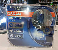 Лампы Osram H4 +20 4200 К COOL BLUE DUOBOX ОРИГИНАЛ!