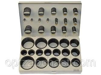 Набор уплотнительных колец универсальный в ассортименте из натурального каучука, 407 шт (AT-5407)
