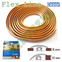 Гибкий порожек для пола Cezar Flex Line, L- 6,0 м., фото 1